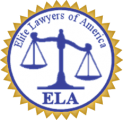 Elite Lawyers of America Badge