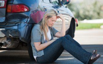 car accident head injury victim
