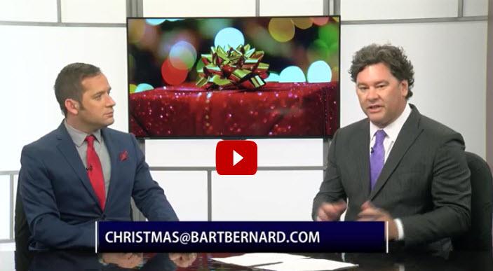 Bart Bernard Christmas giveaway Acadiana