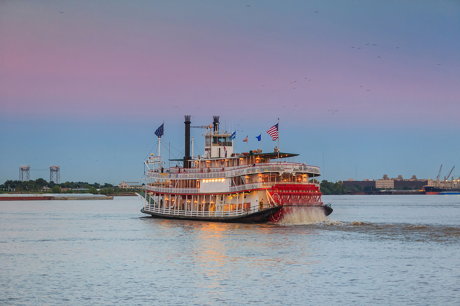 Acadiana riverboat in Lafayette, LA